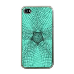 Spirograph Apple Iphone 4 Case (clear) by Siebenhuehner