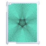 Spirograph Apple iPad 2 Case (White) Front