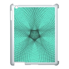 Spirograph Apple Ipad 3/4 Case (white) by Siebenhuehner