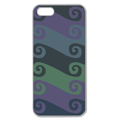 Upsidedown Apple Seamless Iphone 5 Case (clear) by Contest1775517