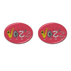 Jazz Cufflinks (oval)