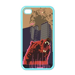 Urban Bear Apple iPhone 4 Case (Color) by Contest1738792