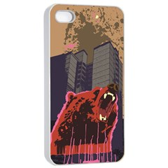 Urban Bear Apple Iphone 4/4s Seamless Case (white)