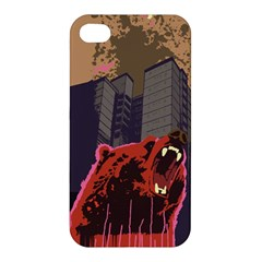 Urban Bear Apple Iphone 4/4s Premium Hardshell Case by Contest1738792