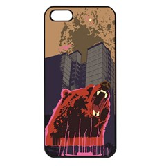 Urban Bear Apple Iphone 5 Seamless Case (black) by Contest1738792
