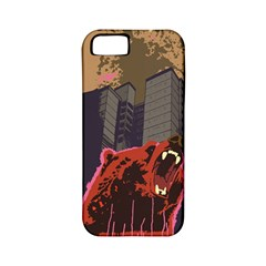 Urban Bear Apple Iphone 5 Classic Hardshell Case (pc+silicone) by Contest1738792