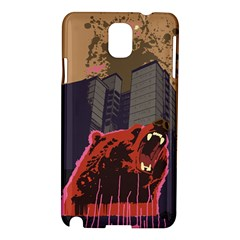 Urban Bear Samsung Galaxy Note 3 N9005 Hardshell Case by Contest1738792