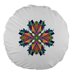 Modern Art 18  Premium Round Cushion  by Siebenhuehner