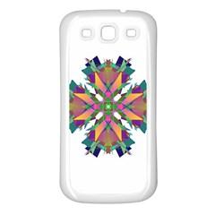 Modern Art Samsung Galaxy S3 Back Case (white) by Siebenhuehner