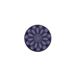 Spirograph 1  Mini Button by Siebenhuehner