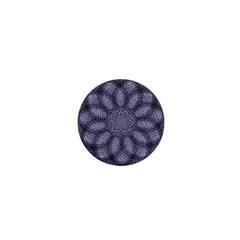 Spirograph 1  Mini Button Magnet by Siebenhuehner