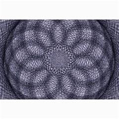Spirograph Canvas 12  X 18  (unframed) by Siebenhuehner