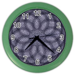 Spirograph Wall Clock (color) by Siebenhuehner