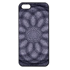 Spirograph Apple Iphone 5 Seamless Case (black) by Siebenhuehner