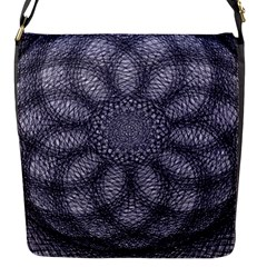 Spirograph Flap Closure Messenger Bag (small) by Siebenhuehner