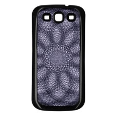 Spirograph Samsung Galaxy S3 Back Case (black) by Siebenhuehner