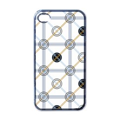 Circle Connection Apple Iphone 4 Case (black) by ContestDesigns