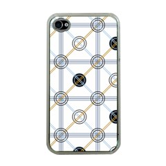 Circle Connection Apple Iphone 4 Case (clear) by ContestDesigns