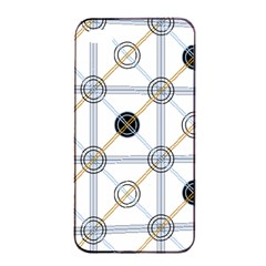 Circle Connection Apple Iphone 4/4s Seamless Case (black) by ContestDesigns