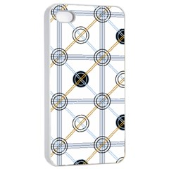 Circle Connection Apple Iphone 4/4s Seamless Case (white) by ContestDesigns