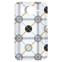 Circle Connection HTC Desire HD Hardshell Case  by ContestDesigns
