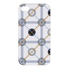 Circle Connection Apple Iphone 4/4s Premium Hardshell Case by ContestDesigns