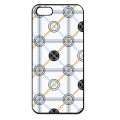 Circle Connection Apple Iphone 5 Seamless Case (black) by ContestDesigns