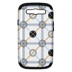 Circle Connection Samsung Galaxy S Iii Hardshell Case (pc+silicone) by ContestDesigns