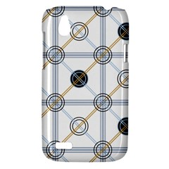 Circle Connection HTC T328W (Desire V) Case by ContestDesigns