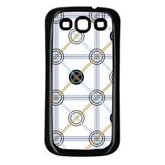 Circle Connection Samsung Galaxy S3 Back Case (black) by ContestDesigns