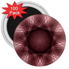 Spirograph 3  Button Magnet (100 Pack) by Siebenhuehner