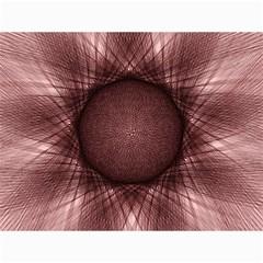 Spirograph Canvas 18  X 24  (unframed) by Siebenhuehner