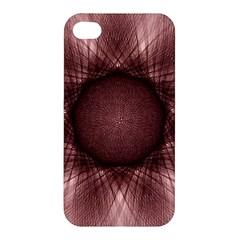 Spirograph Apple Iphone 4/4s Premium Hardshell Case by Siebenhuehner