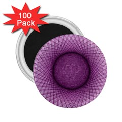 Spirograph 2 25  Button Magnet (100 Pack)