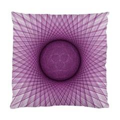 Spirograph Cushion Case (single Sided)  by Siebenhuehner