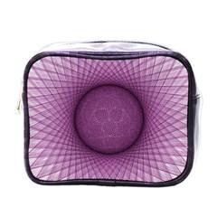 Spirograph Mini Travel Toiletry Bag (one Side) by Siebenhuehner