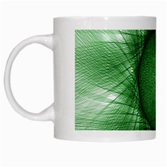 Spirograph White Coffee Mug by Siebenhuehner