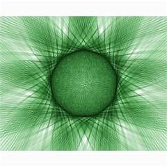 Spirograph Canvas 16  X 20  (unframed) by Siebenhuehner