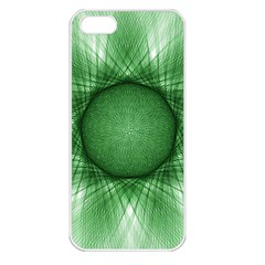 Spirograph Apple Iphone 5 Seamless Case (white) by Siebenhuehner