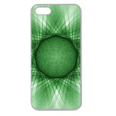 Spirograph Apple Seamless Iphone 5 Case (clear) by Siebenhuehner