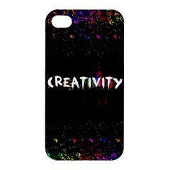 Creativity  Apple Iphone 4/4s Hardshell Case by TheTalkingDead