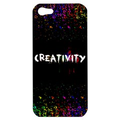 Creativity  Apple Iphone 5 Hardshell Case by TheTalkingDead