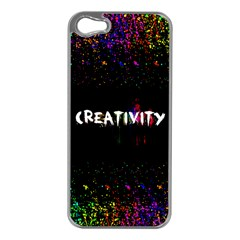 Creativity  Apple Iphone 5 Case (silver) by TheTalkingDead