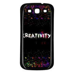 Creativity  Samsung Galaxy S3 Back Case (black)