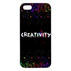 CREATIVITY. iPhone 5S Premium Hardshell Case by TheTalkingDead