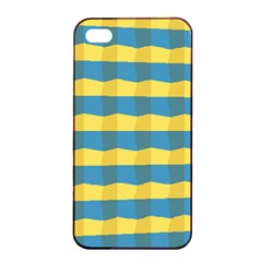 Beach Feel Apple Iphone 4/4s Seamless Case (black) by ContestDesigns