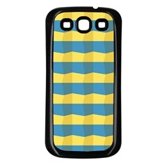 Beach Feel Samsung Galaxy S3 Back Case (black) by ContestDesigns