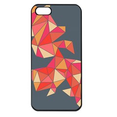 Angular Apple Iphone 5 Seamless Case (black)