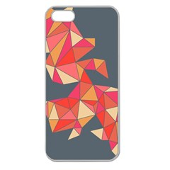 Angular Apple Seamless Iphone 5 Case (clear)