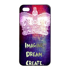 Imagine  Dream  Create  Apple Iphone 4/4s Seamless Case (black) by TheTalkingDead